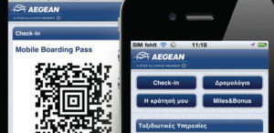 aegean check in