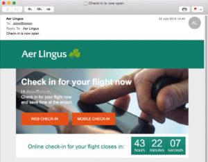 aer lingus check in online español aer lingus check in español
