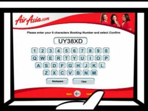 air asia check in online