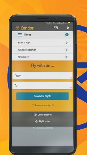 condor check in app