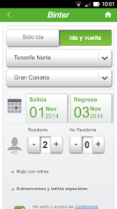 binter check in movil