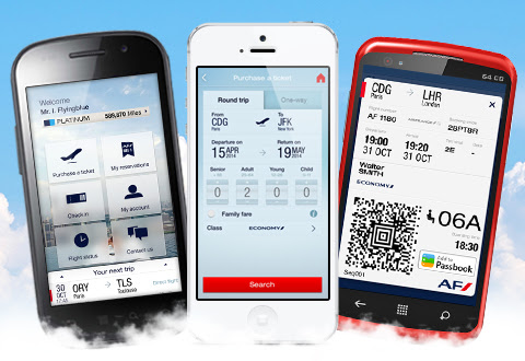air france check in by phone