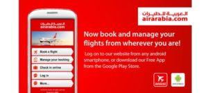 web check in air arabia