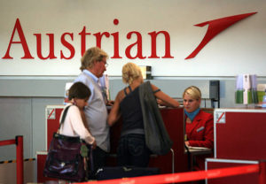 austrian airlines check in