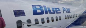 Blue Air check in