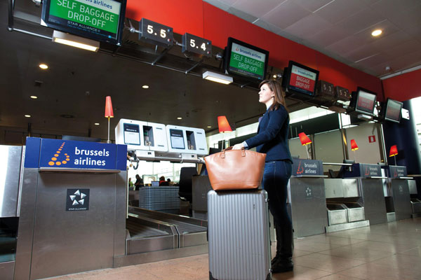 brussels airlines express check in