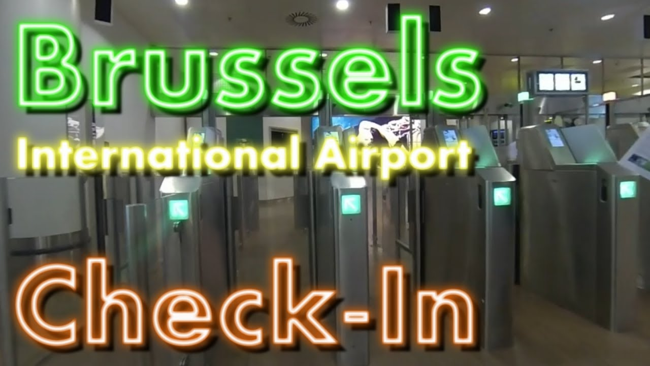 brussels airlines and check in