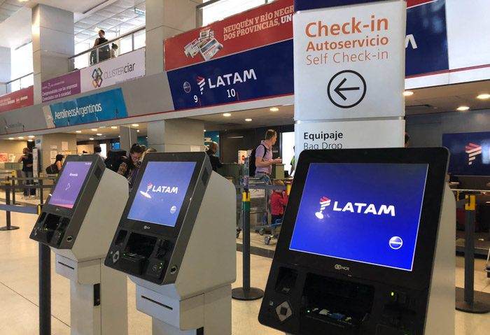 latam check in en aeropuerto