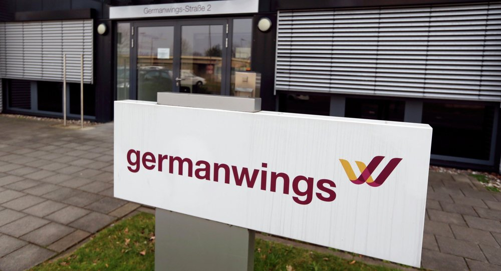 germanwings check in agent