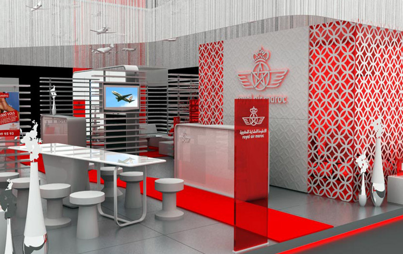 royal air maroc check in airport