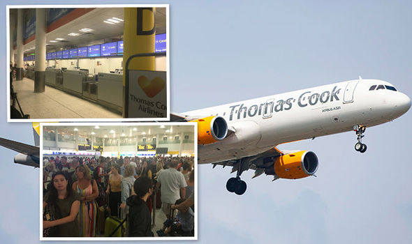 thomas cook check in at jfk