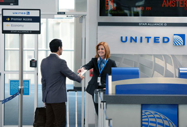 United-airlines-check-in-