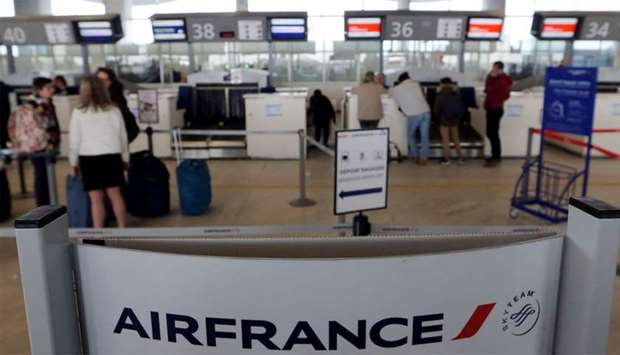 air france check in help