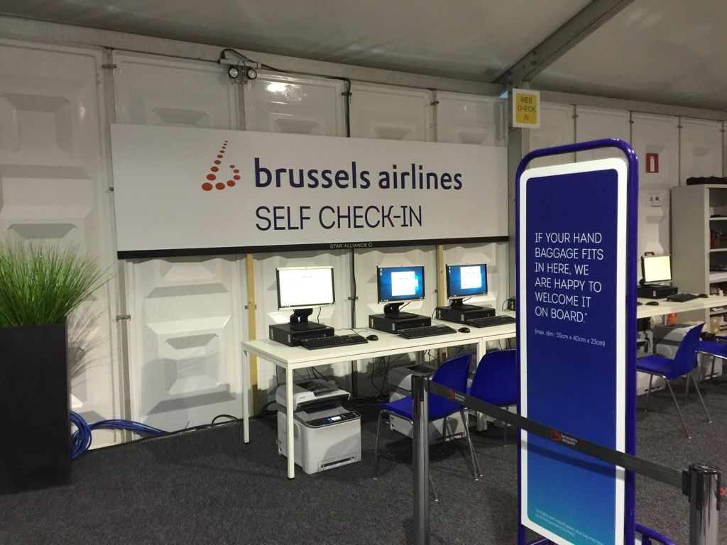 brussels airlines hacer check in