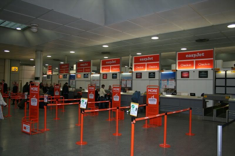 easyjet check in at airport fee