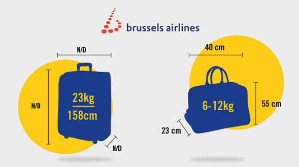 brussels airlines check in baggage