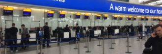 British Airways check in