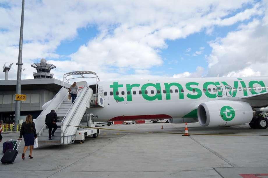 check in transavia schiphol