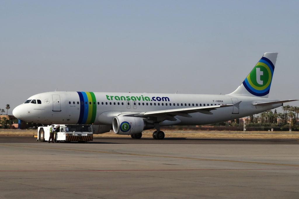 check in transavia online