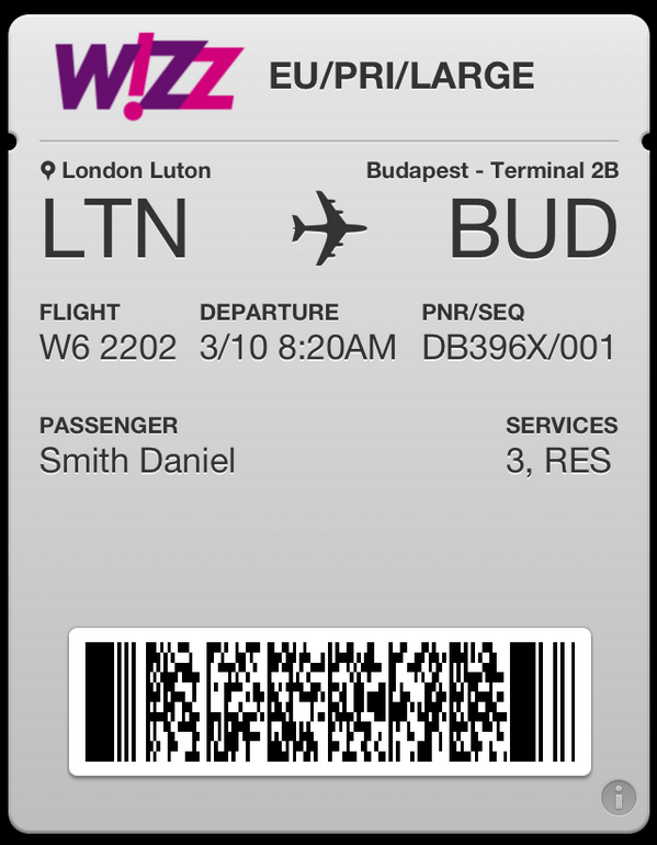 wizz air check in baggage