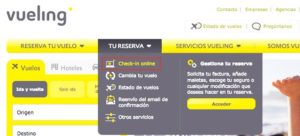 vueling check in dias antes