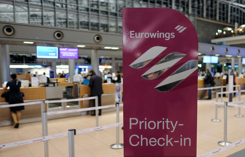 eurowings check in nummer