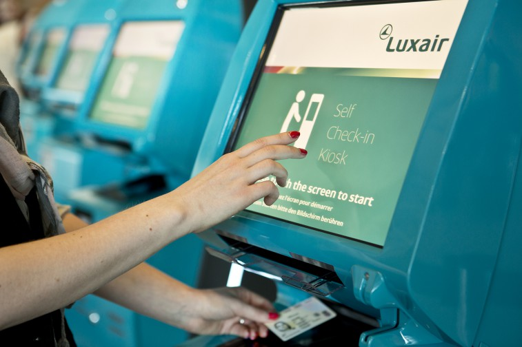 luxair check in mobile