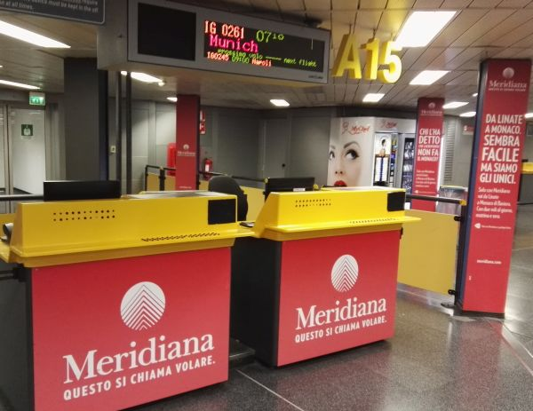 meridiana check in gratis