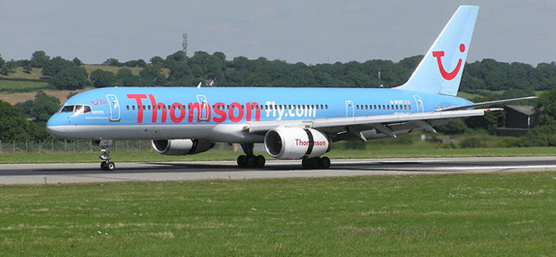 thomson airways equipaje