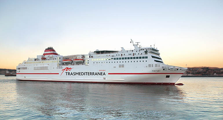 trasmediterranea ferry check in
